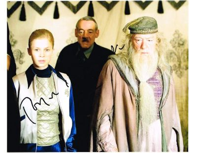 Roger Lloyd Pack Autograph Signed Photo Barty Crouch Harry Potter